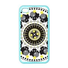 Mandala Geometric Design Pattern Apple Iphone 4 Case (color) by Celenk
