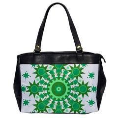 Mandala Geometric Pattern Shapes Office Handbags by Celenk