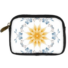 Mandala Mermaid Lake Rose Swimmers Digital Camera Cases by Celenk