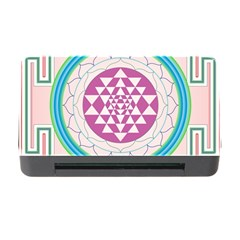 Mandala Design Arts Indian Memory Card Reader With Cf by Celenk