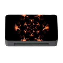 Mandala Fire Mandala Flames Design Memory Card Reader With Cf by Celenk