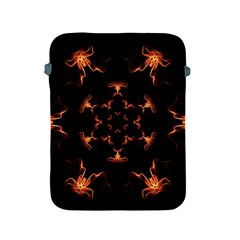 Mandala Fire Mandala Flames Design Apple Ipad 2/3/4 Protective Soft Cases by Celenk