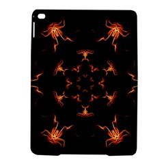 Mandala Fire Mandala Flames Design Ipad Air 2 Hardshell Cases by Celenk