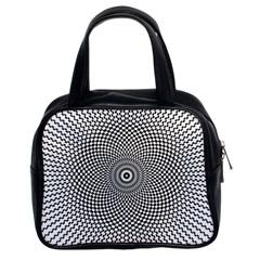 Kaleidoscope Pattern Kaleydograf Classic Handbags (2 Sides) by Celenk