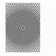 Kaleidoscope Pattern Kaleydograf Large Garden Flag (two Sides) by Celenk