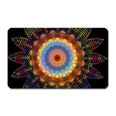 Colorful Prismatic Chromatic Magnet (rectangular) by Celenk