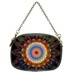 Colorful Prismatic Chromatic Chain Purses (two Sides)  by Celenk