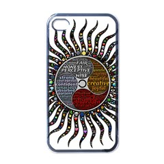 Whole Complete Human Qualities Apple Iphone 4 Case (black) by Celenk