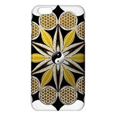 Mandala Yin Yang Live Flower Iphone 6 Plus/6s Plus Tpu Case by Celenk