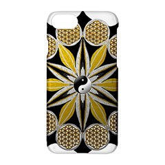 Mandala Yin Yang Live Flower Apple Iphone 8 Hardshell Case by Celenk