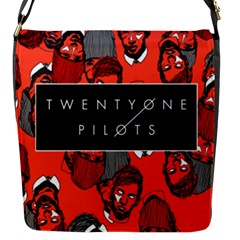 Twenty One Pilots Pattern Flap Messenger Bag (s) by Onesevenart