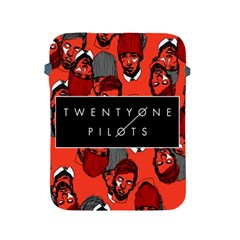 Twenty One Pilots Pattern Apple Ipad 2/3/4 Protective Soft Cases by Onesevenart