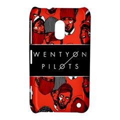 Twenty One Pilots Pattern Nokia Lumia 620 by Onesevenart