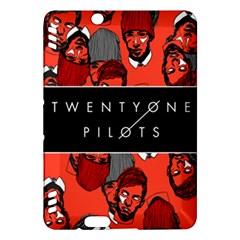 Twenty One Pilots Pattern Kindle Fire Hdx Hardshell Case by Onesevenart