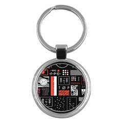 Twenty One Pilots Poster Key Chains (round)  by Onesevenart