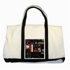 Twenty One Pilots Poster Two Tone Tote Bag by Onesevenart