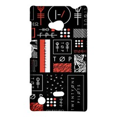 Twenty One Pilots Poster Nokia Lumia 720 by Onesevenart