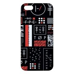 Twenty One Pilots Poster Iphone 5s/ Se Premium Hardshell Case by Onesevenart