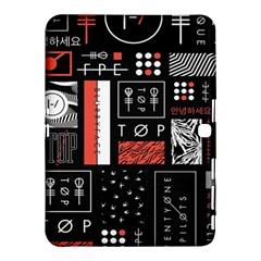 Twenty One Pilots Poster Samsung Galaxy Tab 4 (10 1 ) Hardshell Case  by Onesevenart