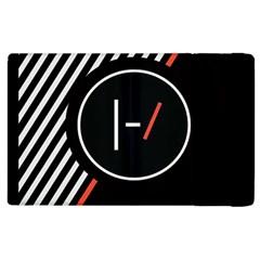 Twenty One Pilots Poster Apple Ipad 3/4 Flip Case by Onesevenart