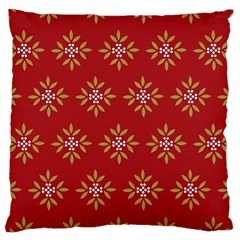 Pattern Background Holiday Large Cushion Case (one Side) by Celenk