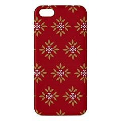 Pattern Background Holiday Apple Iphone 5 Premium Hardshell Case by Celenk