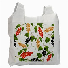 Juicy Currants Recycle Bag (two Side)  by TKKdesignsCo