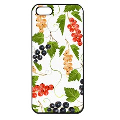 Juicy Currants Apple Iphone 5 Seamless Case (black) by TKKdesignsCo