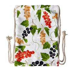 Juicy Currants Drawstring Bag (large) by TKKdesignsCo
