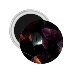 Crystals Background Design Luxury 2 25  Magnets by Celenk