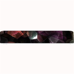 Crystals Background Design Luxury Small Bar Mats by Celenk
