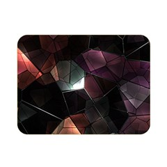 Crystals Background Design Luxury Double Sided Flano Blanket (mini)