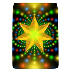 Christmas Star Fractal Symmetry Flap Covers (s)  by Celenk