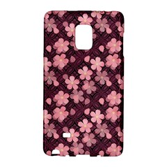 Cherry Blossoms Japanese Style Pink Galaxy Note Edge by Celenk