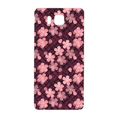 Cherry Blossoms Japanese Style Pink Samsung Galaxy Alpha Hardshell Back Case by Celenk
