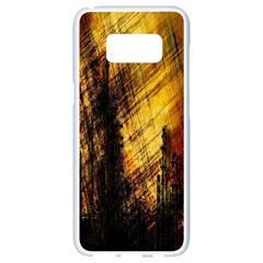Refinery Oil Refinery Grunge Bloody Samsung Galaxy S8 White Seamless Case