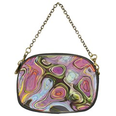 Retro Background Colorful Hippie Chain Purses (one Side)  by Celenk