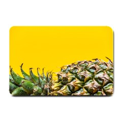 Pineapple Raw Sweet Tropical Food Small Doormat  by Celenk