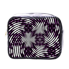 Background Texture Pattern Mini Toiletries Bags by Celenk