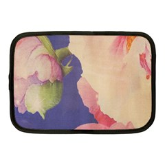 Fabric Textile Abstract Pattern Netbook Case (medium)  by Celenk
