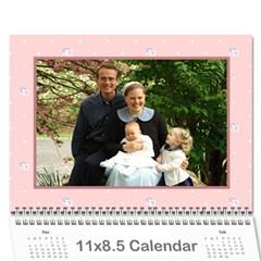 Girls Calender By Joyfulviktory   Wall Calendar 11  X 8 5  (12 Months)   5z214v4bvaiv   Www Artscow Com Cover