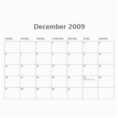 Girls Calender By Joyfulviktory   Wall Calendar 11  X 8 5  (12 Months)   5z214v4bvaiv   Www Artscow Com Dec 2009