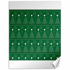 Christmas Tree Holiday Star Canvas 18  X 24   by Celenk