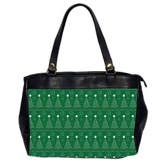 Christmas Tree Holiday Star Office Handbags (2 Sides)  by Celenk
