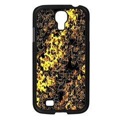 The Background Wallpaper Gold Samsung Galaxy S4 I9500/ I9505 Case (black) by Celenk