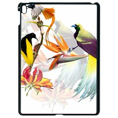 Birds Of Paradise Apple Ipad Pro 9 7   Black Seamless Case by TKKdesignsCo