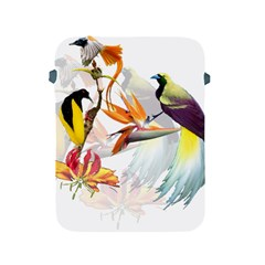 Exotic Birds Of Paradise And Flowers Watercolor Apple Ipad 2/3/4 Protective Soft Cases by TKKdesignsCo