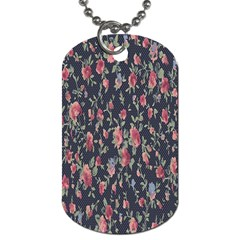 Pattern Flowers Pattern Flowers Dog Tag (two Sides) by Celenk