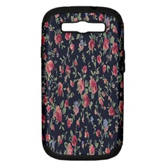 Pattern Flowers Pattern Flowers Samsung Galaxy S Iii Hardshell Case (pc+silicone) by Celenk