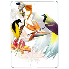 Exotic Birds Of Paradise And Flowers Watercolor Apple Ipad Pro 12 9   Hardshell Case by TKKdesignsCo
